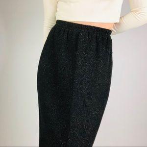 🌵BABETTE SAN FRANCISCO Knit Midi Tweed Skirt